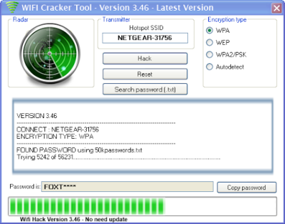 Crack Hack WiFi Wep